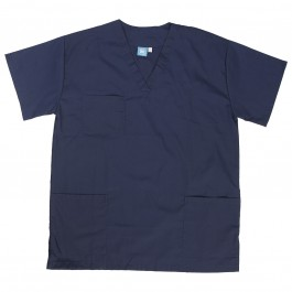 Dental Scrub Mens Top Navy