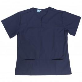 Dental Scrub Womens Top Navy