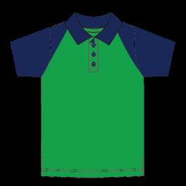 Unisex Raglan Polo Shirt