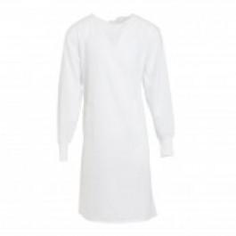 White Lab Gown