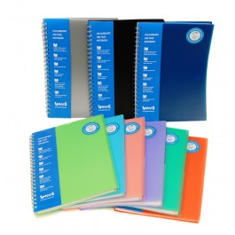 A4 300pg 3 Subject Notebook
