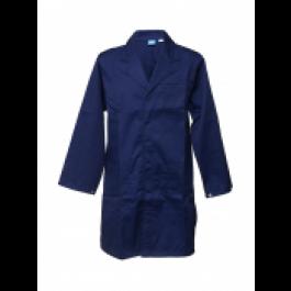 Navy Lab Coat