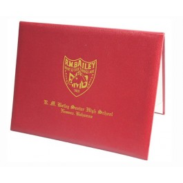 Smooth Leatherette Diploma Cover